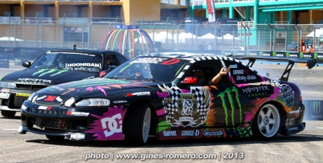 foto the maximun parade - gymkhana grid