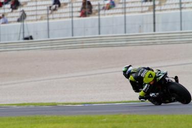 Cal Crutchlow during the Moto GP Grand Prix Generali Comunitat Valenciana qualifying session at Circuit de la Comunitat Valenciana Ricardo Tormo on November 9, 2013 in Valencia, Spain. (Photo by GinŽs Romero/Madrid Photosport)